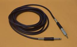 Cable de instrumento Imagenes de archivo