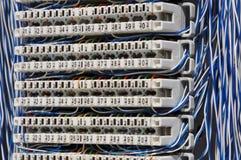 Cable de la conexión Foto de archivo