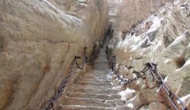 Cable de la montaña Foto de archivo libre de regalías