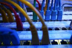 Cable de la red Imagenes de archivo