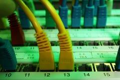 Cable de la red Imágenes de archivo libres de regalías