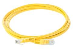 Cable de la red Foto de archivo libre de regalías