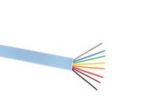 Cable de la red de ordenadores Fotos de archivo libres de regalías