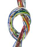 Cable de la telecomunicación Fotografía de archivo libre de regalías