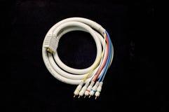 Cable de la TVAD Imagen de archivo