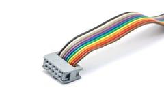 Cable de los conectores Imagen de archivo libre de regalías