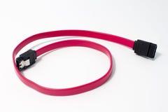 Cable de SATA Fotos de archivo