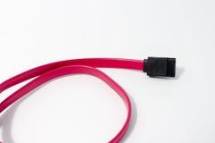 Cable de SATA Fotografía de archivo libre de regalías