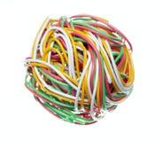 Cable de teléfono 3 Imagen de archivo libre de regalías
