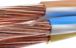 Cable de transmisión Imagen de archivo libre de regalías