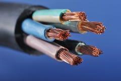 Cable de transmisión Imagen de archivo