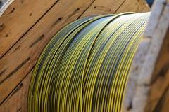 Cable de transmisión Imágenes de archivo libres de regalías