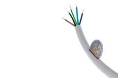 Cable de transmisión como batería guarra Fotografía de archivo libre de regalías
