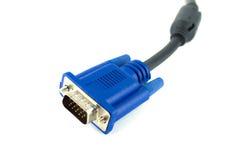 Cable de VGA Fotografía de archivo libre de regalías