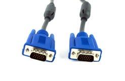 Cable de VGA Imagen de archivo libre de regalías