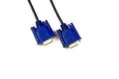 Cable de VGA Imagenes de archivo