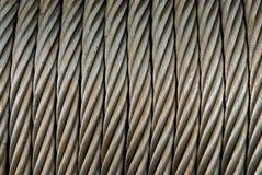 Cable del metal Imagen de archivo