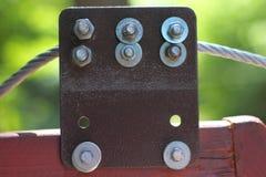 Cable del metal Foto de archivo