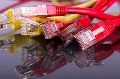 Cable del ordenador Imágenes de archivo libres de regalías