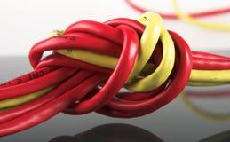 Cable del ordenador Fotografía de archivo