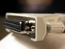 Cable del ordenador fotos de archivo libres de regalías