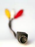 Cable del ordenador Fotografía de archivo libre de regalías