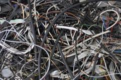 Cable del pedazo Fotos de archivo