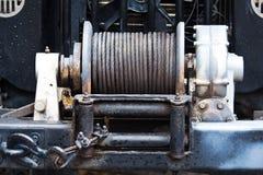 Cable del remolque Fotografía de archivo