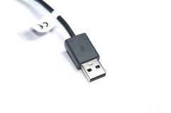 Cable del USB Fotos de archivo libres de regalías