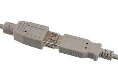Cable del USB. Imagen de archivo