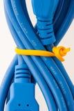 Cable del USB Fotografía de archivo libre de regalías