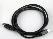 Cable del USB Imagen de archivo