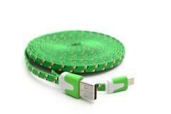 Cable del USB Imágenes de archivo libres de regalías