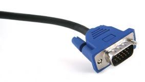 Cable del VGA Fotos de archivo
