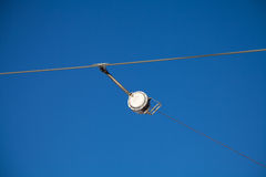 Cable drum of a ski lift - detail Stock Photos