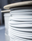 Cable-drum Stock Image