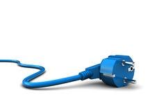 Cable eléctrico stock de ilustración