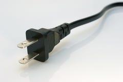 Cable eléctrico Fotos de archivo libres de regalías