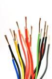 Cable eléctrico Imagen de archivo libre de regalías