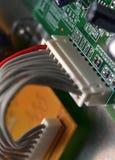 Cable eléctrico Foto de archivo libre de regalías