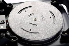 Cable eléctrico negro aislado Imágenes de archivo libres de regalías