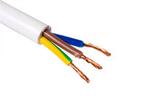 Cable electrical Stock Photography