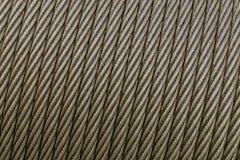 Cable en un carrete Foto de archivo libre de regalías