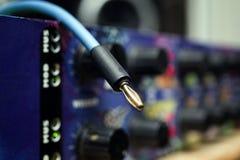 Cable en unidad montada en rack fotos de archivo libres de regalías
