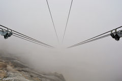 Cable Fanicular Railway Stock Photography