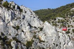 The cable Faro near Toulon Stock Image