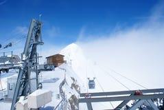 Cable gondolas Stock Photo