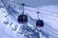 Cable Gondolas 3 Royalty Free Stock Photos
