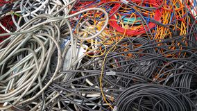 Cable harness stock photos