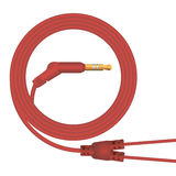 Cable for headphones Stock Image